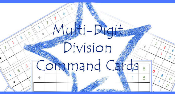Printable: Division Command Cards