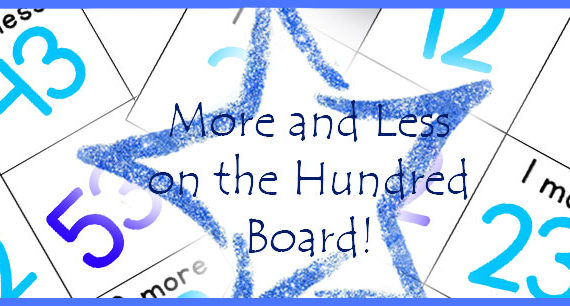 Printable: More and Less – FREE Hundred Board Extension