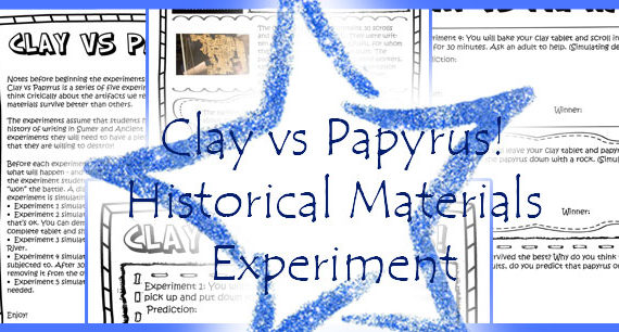 Clay vs Papyrus! Historical Materials Experiment