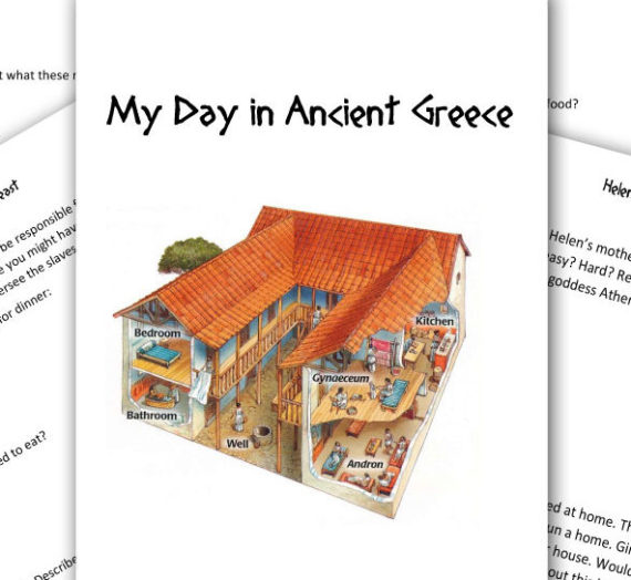 Our Day in Ancient Greece: FREEBIE!