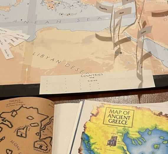 Ancient Greece Unit Study: The Plan